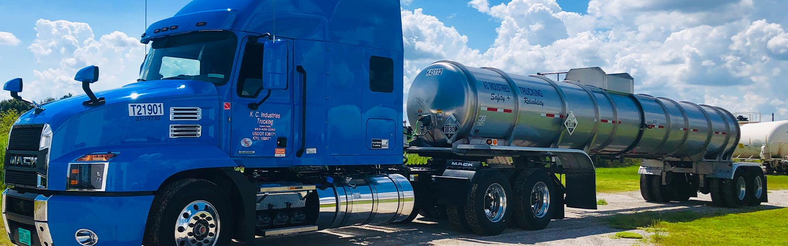 KCI Trucking Bulk Liquid and Hazardous Chemical Transportation Throughout the Southeast SS 1